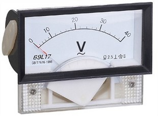 69L17-V volt AC electrical measuring instruments/table/AC voltmeter 85*45(China (Mainland))