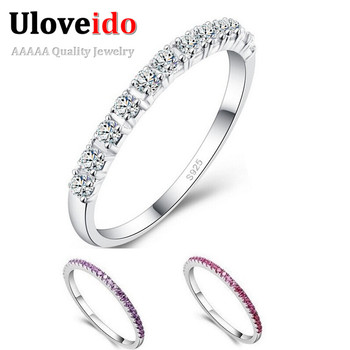 Wedding Rings for Women Topaze Mystique Girls Purple Red Simulated Diamond Ring Cool Jewelry Anillos Anel Sale Wholesale J029
