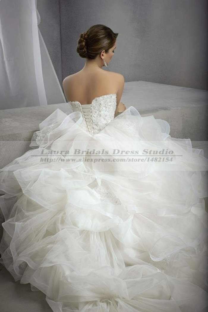 Vestidos de noiva vintage elegant ball gown country for Western vintage wedding dresses