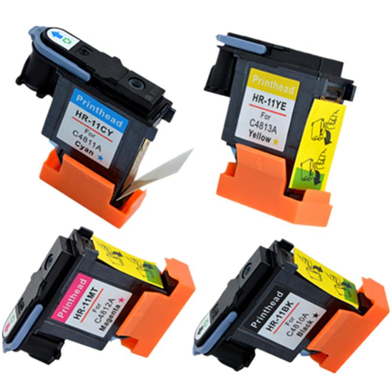 8 pcs 2 set  printhead  For  HP11 HP 11 C4810A C4811A C4813A C4812A Designjet  70 100 110 500 HP510 500PS printer<br><br>Aliexpress
