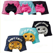 1PC Summer Style 2016 Bows Cute Baby PP Pants Infant Babies Shorts BB Clothing(China (Mainland))