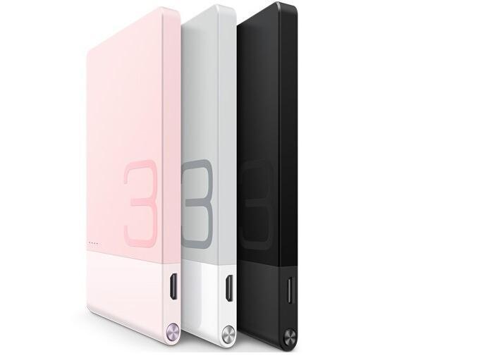Original Huawei Power Bank Colorphon 3 AP005 3000Mah Ultra-Slim Mobile Supply