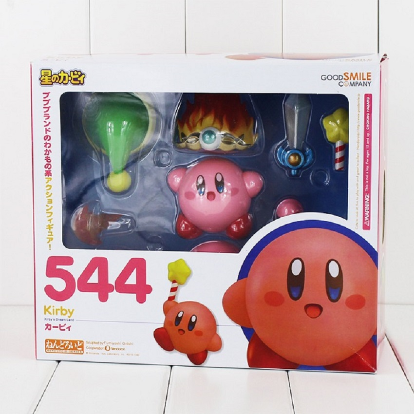 Q Version Kirby's Dream Land 6cm Kirby PVC Action Figure Toys Kirby Brinquedos Models Birthday Gifts For Boys Girls(China (Mainland))