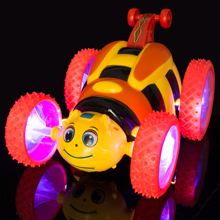 hot sale bees remote control toys model car children car toy model rc toys vehicle electric car toys for kids with light/music(China (Mainland))
