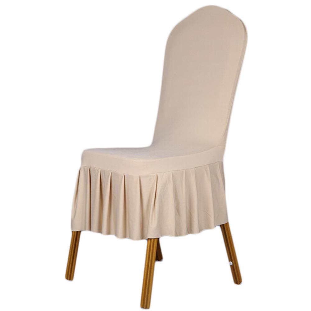 White slipcover chair