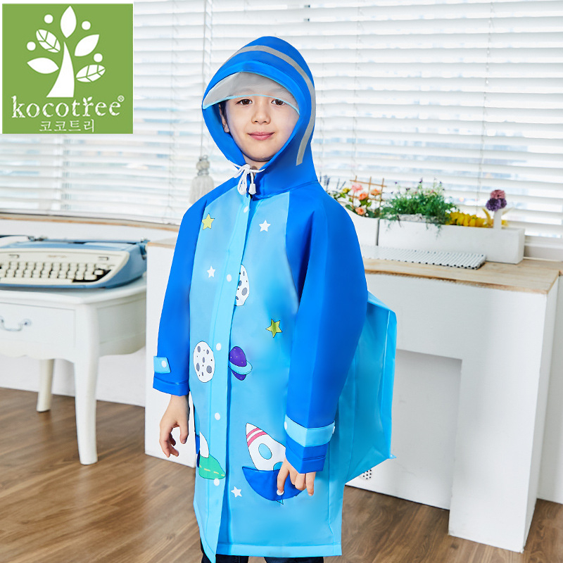 Cute Cartoon Outdoor Children Boys Girls Rain Coat Kids Rain Ponchot Jacket Waterproof Rain Coat Suit Children Raincoat(China (Mainland))
