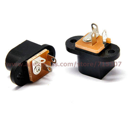 10pcs 5.5*2.1 / 5.5 x 2.1mm DC Power Socket/ DC Connector DC-053 Free Shipping(China (Mainland))