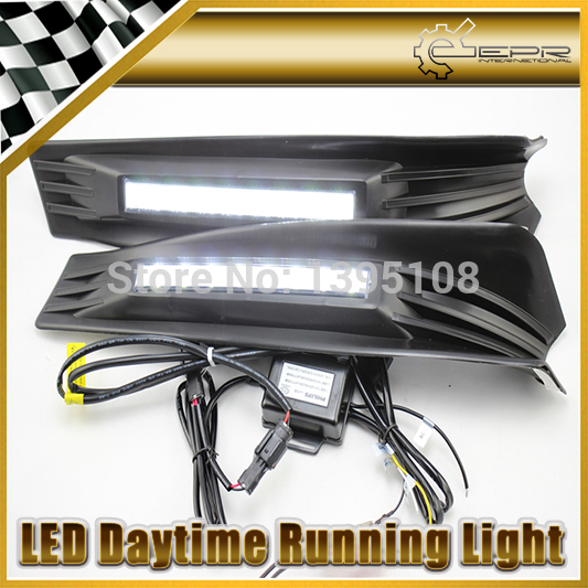 Car Styling Auto Lamp For Honda Accord 2011-2013 LED Daytime Running Light DRL<br><br>Aliexpress