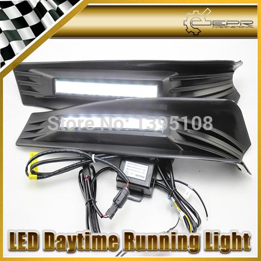 Car Styling Auto Lamp For Honda Accord 2011-2013 LED Daytime Running Light DRL(China (Mainland))