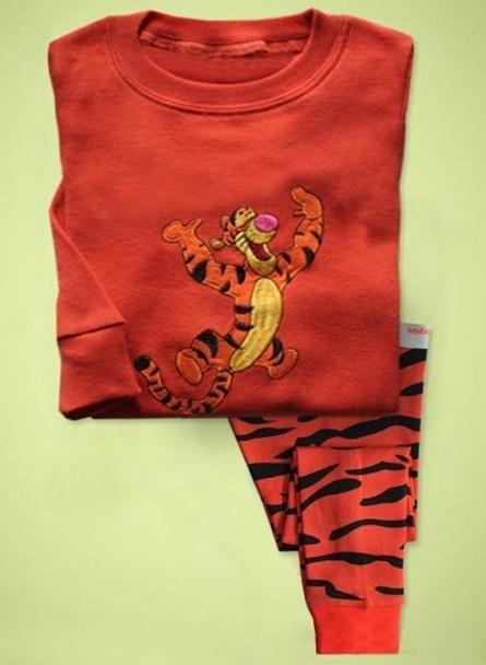 2016Newest Kids Boys Sleepwear children's clothing sets Pajama Pyjama Set Clothes For Age 1-7Years