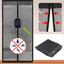 MAGIC DOOR CURTAIN MESH - MAGNETIC FASTENING HANDS FREE SCREEN Fast Shipping(China (Mainland))