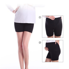 Pregnant safety pants Xiamo Lauderdale pregnant women leggings thin adjustable pregnant women pants spring and summer emptied