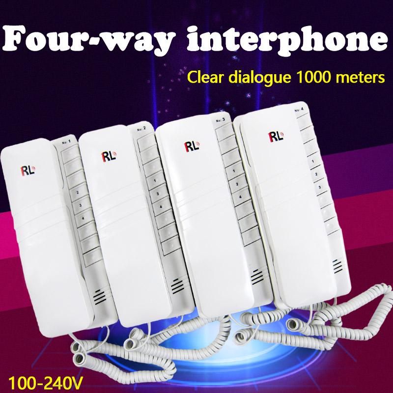 Аудиодомофоны из Китая