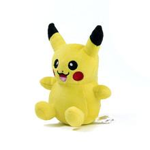 "15 Style 5.5"" Pokemon Go Plush Toys Charmander Pikachu Eevee Snorlax 14cm Cute Stuffed Toy Doll For Kids Birthday Christmas Gift(China (Mainland))"