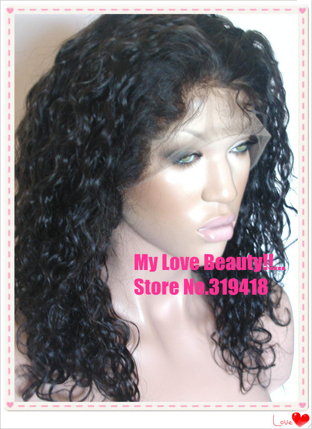 Fashion For Black Women Malaysian Curly Gluless Lace Front Wig/ Full Lace Wigs Fashion 100% human Hair Remy Brazilian Hair Hot<br><br>Aliexpress