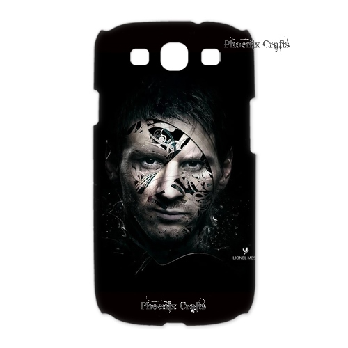 Mobile phone Canada wholesale messi FC Arsenal pc hardware Hard plastic cases for Samsung Galaxy s3 3D Crazy(China (Mainland))