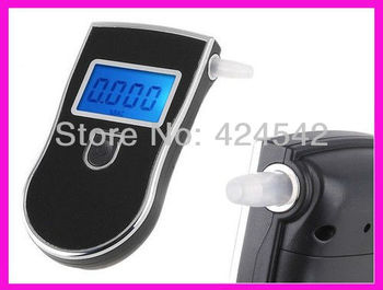 Crazy Promotion!!! 2013 new patent portable digital mini breath alcohol tester wholesales a breathalyzer test with 5 mouthpiece
