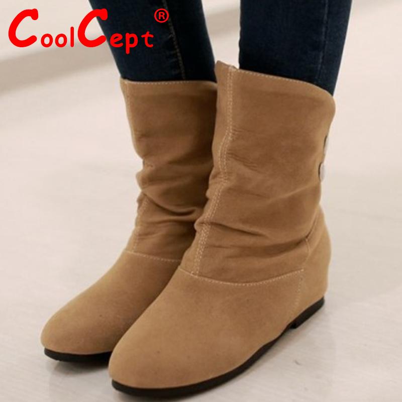 women falt ankle boots half short autumn winter botas fashion quality footwear round toe warm boot shoes P19325 size 34-39<br><br>Aliexpress
