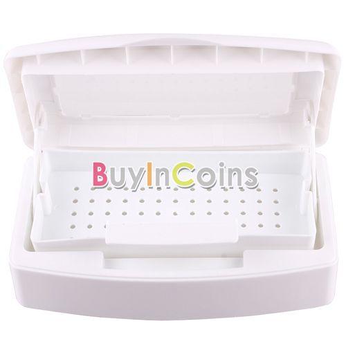 Sterilizing Clean Nail Art Salon Tools Pro Sterilizer Tray Box US AS #26972(China (Mainland))