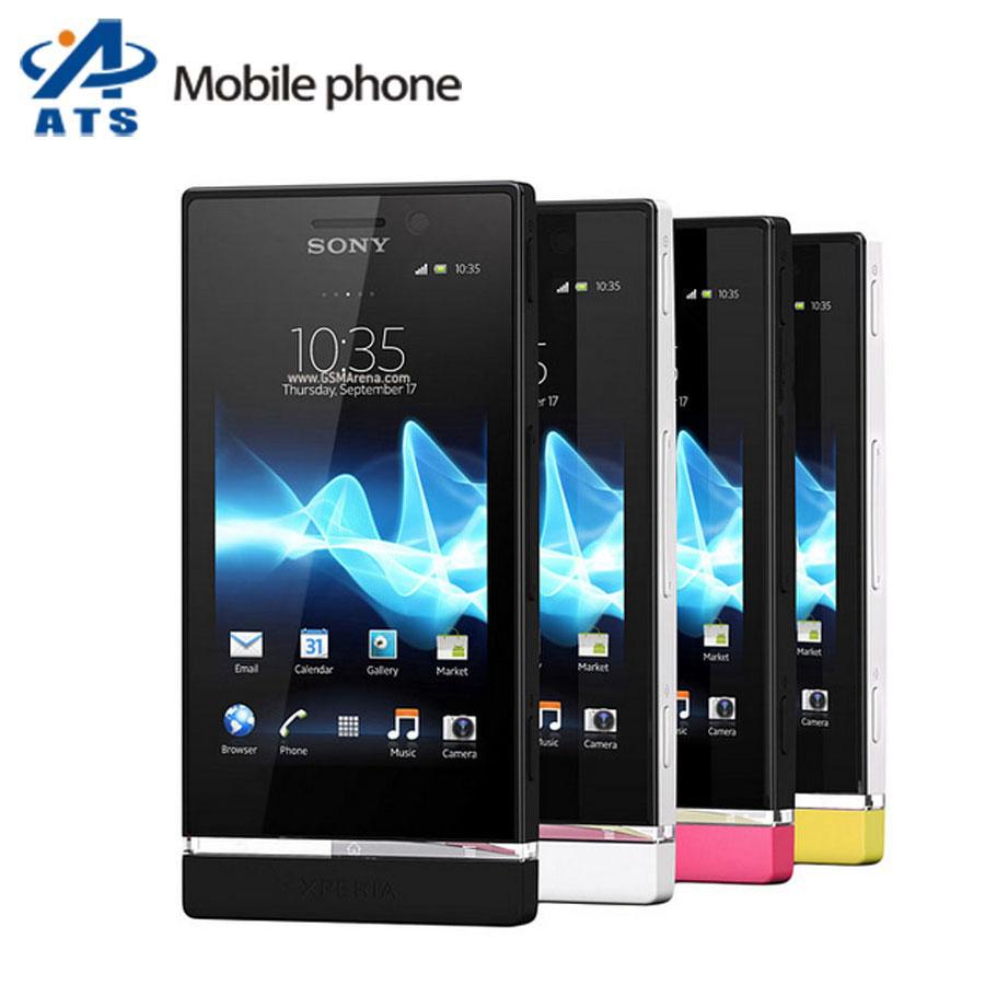 St25 Original Sony Ericsson Xperia U ST25i Mobile Phone Unlocked ST25i 3G GPS WIFI 5MP One Year Warranty Free Shipping(China (Mainland))