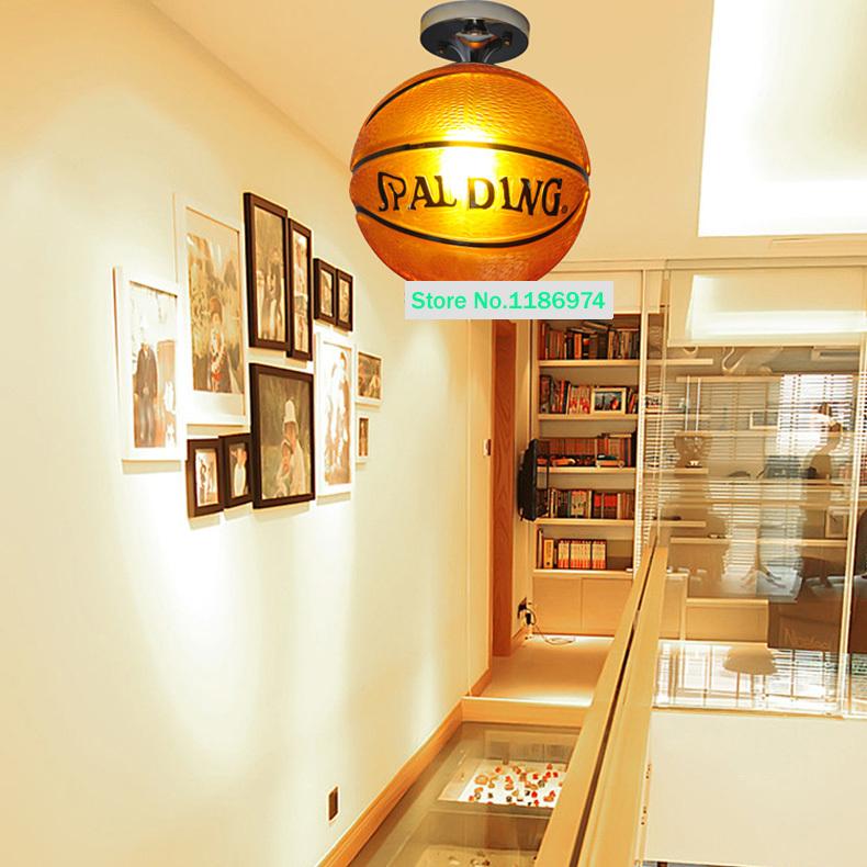 Basketball light fixtures promotion shop for promotional for Hanging lights for kids room