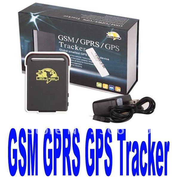 Mini tracker Car Vehicle Real time Tracker For GSM GPRS GPS track Free Shipping(China (Mainland))