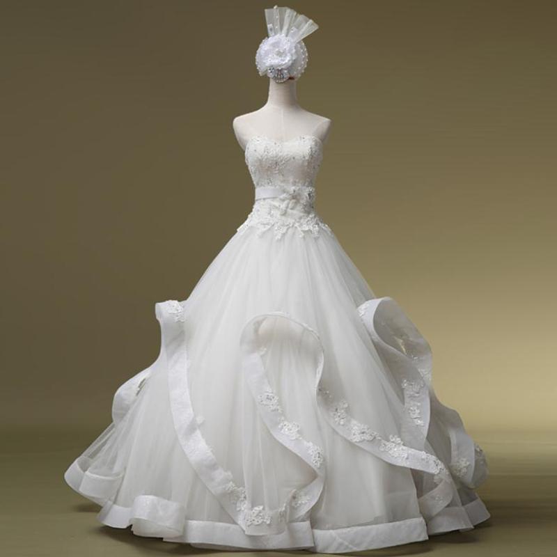 Buy free shipping luxury wedding dress for Wedding dress free shipping