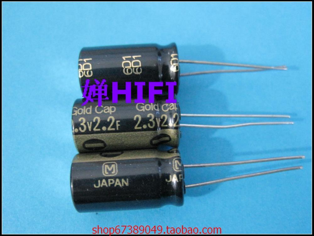 2015 Real Sale Supercapacitor Kit 10pcs Japan Gold Cap Authentic 6d1 of Origin Farad Capacitors 2.3v2.2f 12.5x22 free Shipping(China (Mainland))