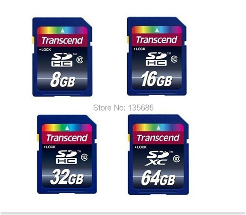 100 Real Capacity SD Card 32GB Memory Card 16GB 8GB 4GB SDXC Transflash Flash Memory Card