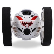 Mini Bounce Car PEG SJ88 RC Cars 4CH 2.4GHz Strong Jumping Sumo RC Car with Flexible Wheels Remote Control Robot Car for Gifts(China (Mainland))