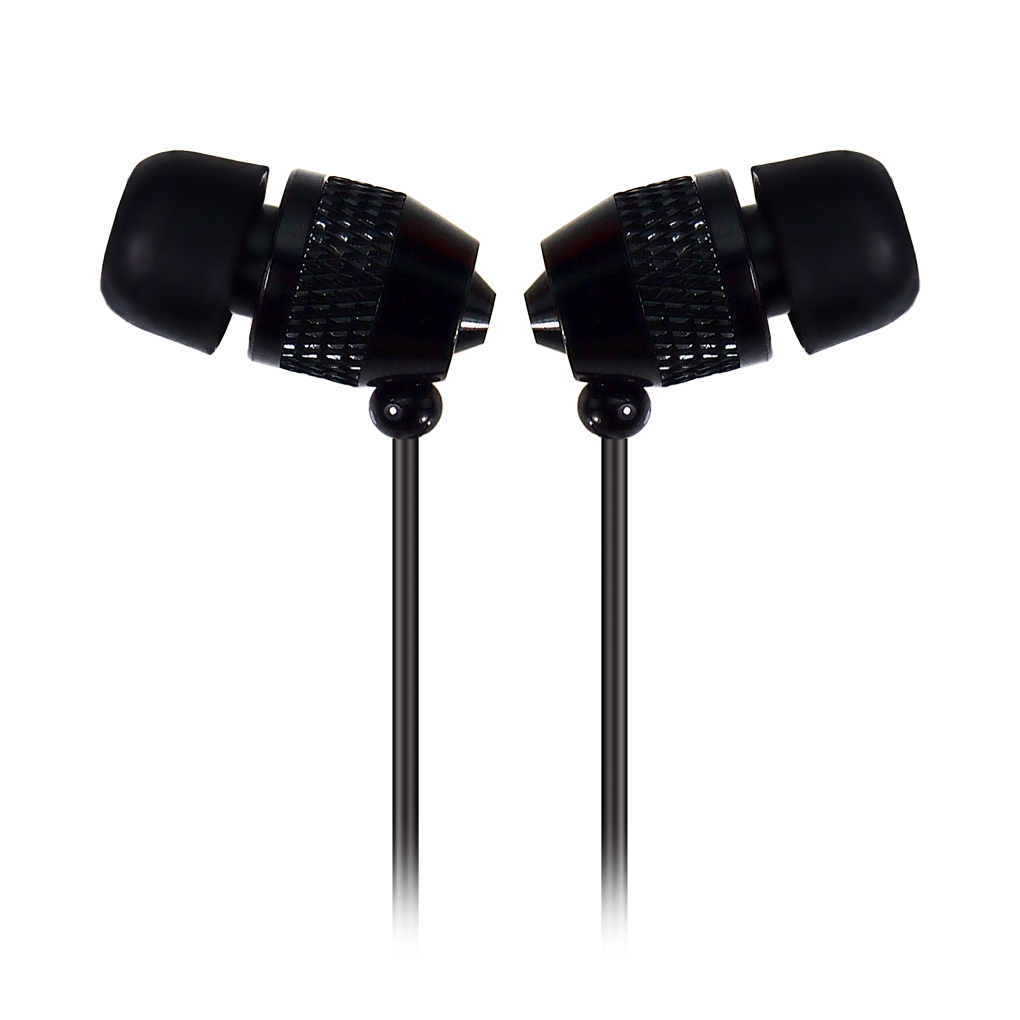 Fashion Bullet Metal 3.5mm In-ear Earphones Earphone Headset Noise isolating Earbud For Mobile Phones MP3 MP4 Laptop(China (Mainland))