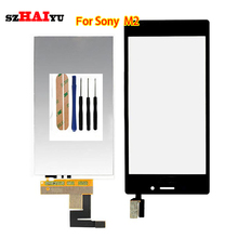 Tested Good Working LCD Display For Sony Xperia M2 Aqua LTE D2403 D2406 +Touch Screen with Digitizer Assembly Tools(China (Mainland))