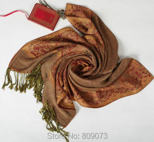 2015 New Brand Cotton Winter Jacquard Scarf Women Warm Long Vintage Floral Printing Tassel Cape Shawls Scarves India - Shenzhen Sundah Tech Co., Ltd.(Craft & Gift Dept. store)