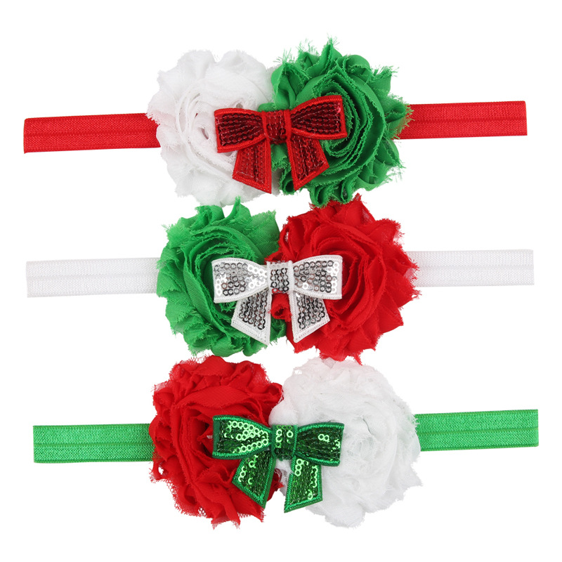 Aliexpress com buy christmas 2015 big flower headband baby 3 colors