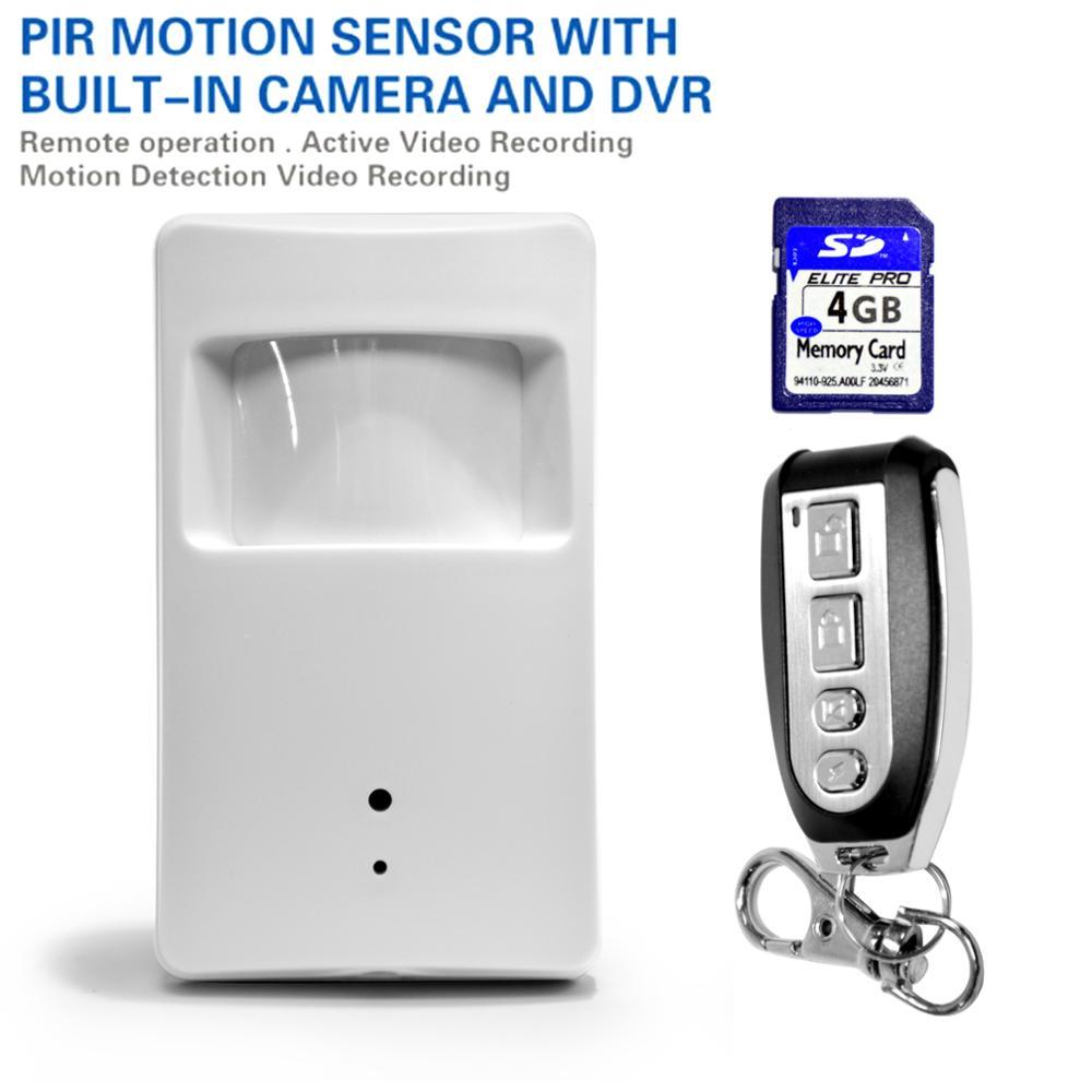 infrared motion detector PIR sensor with IR camera DVR motion alarm 433MHZ EV1527 alert for Home security Alarm Systems(China (Mainland))