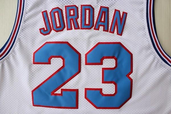 Aliexpress.com : Buy Space Jam Jersey Michael Jordan #23 White ...