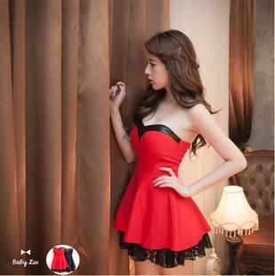 Free Shipping 2015 Sexy Sleeveless Strapless Stylish Skirt Women Elegant Skirts Nightclub Skirts(China (Mainland))
