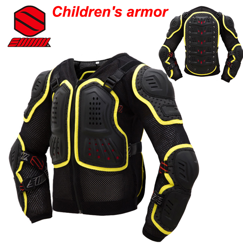 Sunny Brand Children's Motocross Armour Full Protector Gears DH AM ENDURO BMX Protective Kids Body Armor(China (Mainland))