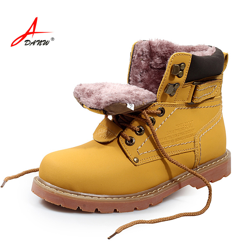 Hot!!! 40 C Keep Warm Men Winter Boots Genuine Leather Boots Work Boots Men Outdoor Shoes Boots ...
