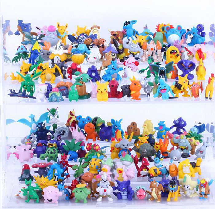 New Arrival high quality 144pcs/lot pokemon action figure PVC dolls 2-4cm toys free shipping<br><br>Aliexpress