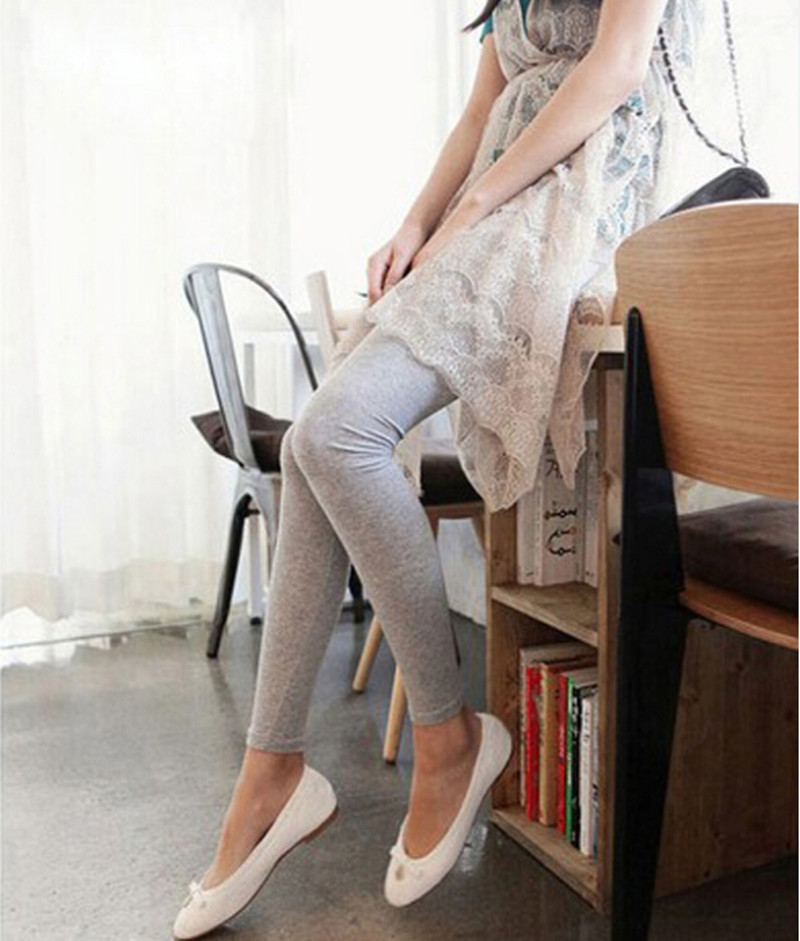 New Fashion Spring women black gray leggings of beautiful body model women popular for gift free