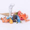 Anemonefish Cute Anime Cartoon Figure Nemo Dory Crush Hank Miniature Doll Toys Kids Gifts For Boys