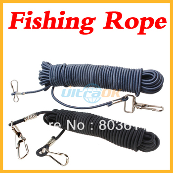 5 M Dual Lobster Hooks Fishing Safety Line Elastic Rope