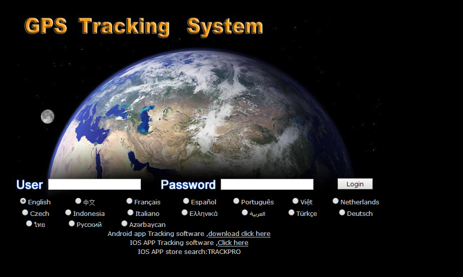 GPS tracking platform building with andriod & Iphone APP more languages(China (Mainland))
