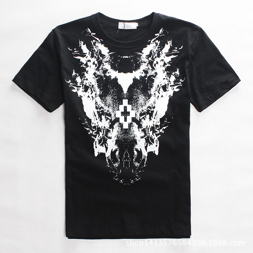 New 2015 one piece men running t shirt ghost style hip hop rock 3d model male shirt clothes sport brand 3d printed t-shirts 2728(China (Mainland))