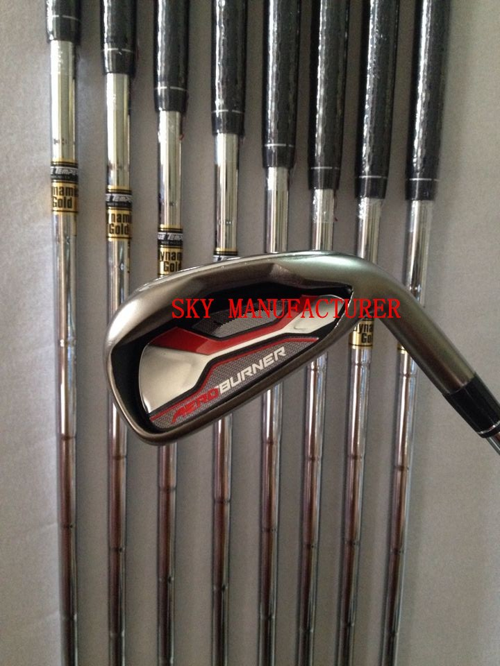 Aeroburner Golf irons Steel Graphite Shafts Free Headcovers #456789PAS DHL Shipping