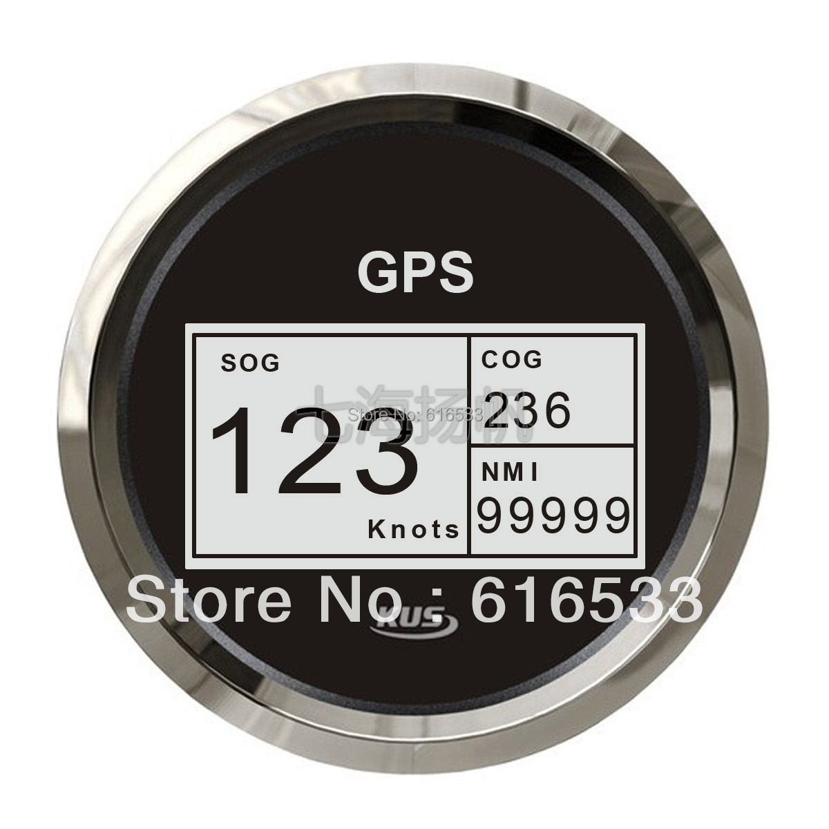 85 mm num rique gps compteur de vitesse compte tours jauges compteur indicateur 12 24 v. Black Bedroom Furniture Sets. Home Design Ideas