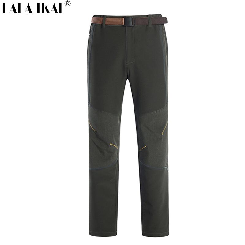 Men Fleece pants Windproof Camping Hiking Pants Women Outdoor Thermal Pants Warm waterproof pants Travelling pants HMB0110    <br><br>Aliexpress