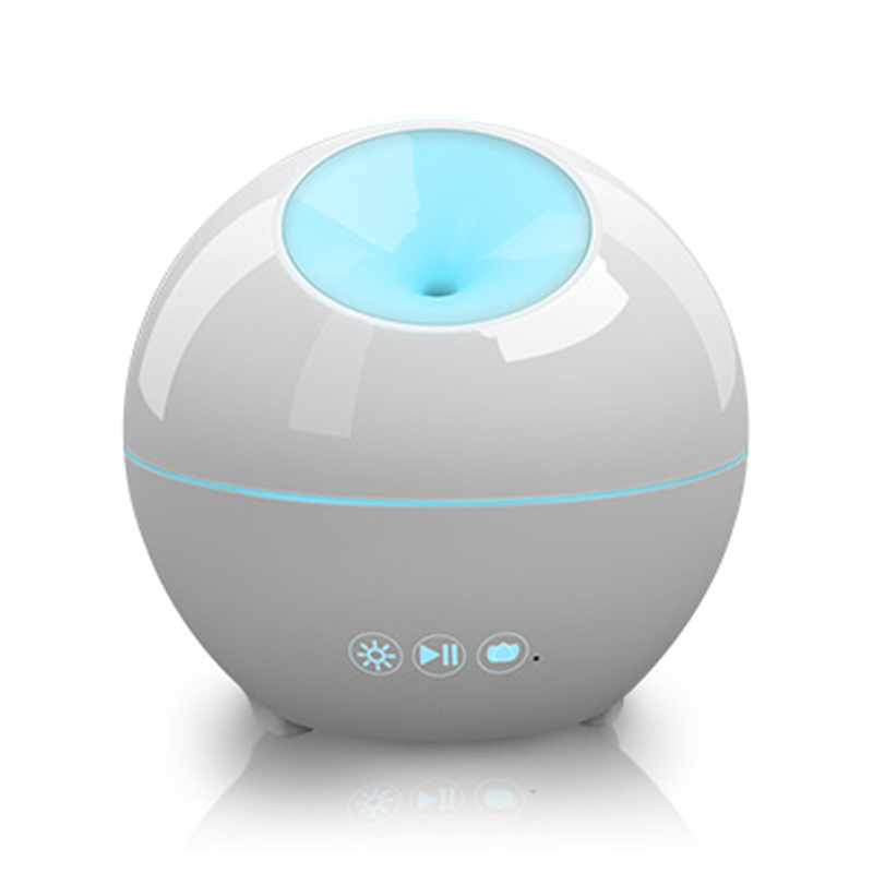 Intelligent Light Colorful music Steam Humidifier Air Purifier Ultrasonic Essential Oil Aroma Diffuser Mist Maker Home AT-04(China (Mainland))