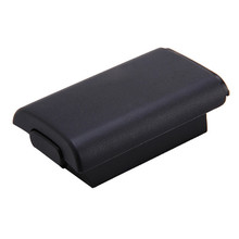 Best Price 2pcs/lot Best price Black Battery Compartment Pack Cover Shell Case Replacement Kit For Xbox 360 Controller Joystick